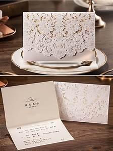 50 setscardsenvelopessealsluxury white laser cut With diy wedding invitations aliexpress