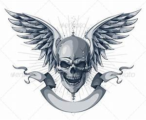 skull with wings tattoo - Google zoeken | Skull + wings ...