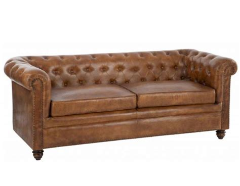 canapes chesterfield canapé vintage cuir anglais forme chesterfield