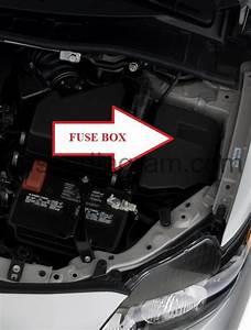 Fuse Box Toyota Corolla 2007