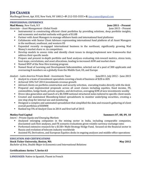 package b five resume