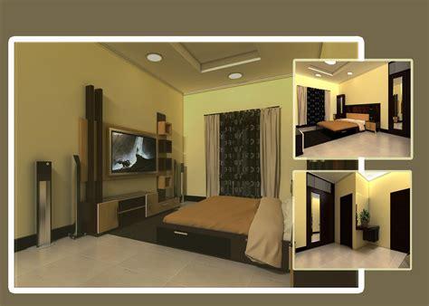 Desain Interior Kamar Tidur Minimalis Modern