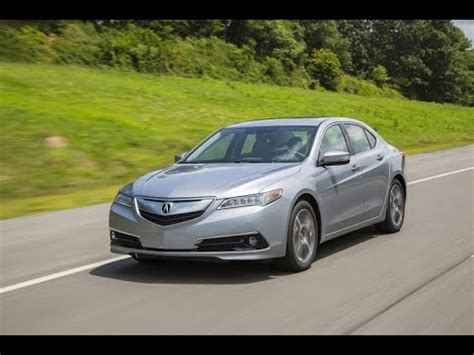 Acura Tlx 4 Cylinder by 2016 Acura Tlx Start Up And Review 2 4 L 4 Cylinder