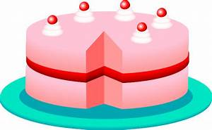 Pink Cake Clip Art at Clker.com - vector clip art online ...