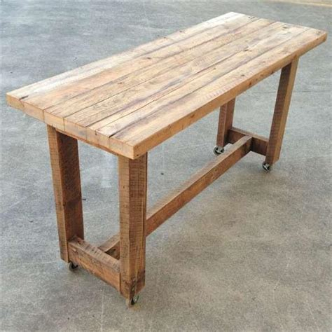 kitchen islands for sale ebay solid timber kitchen island high bench table w wheels in