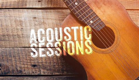 Acoustic Music Session  The Red Brick Building