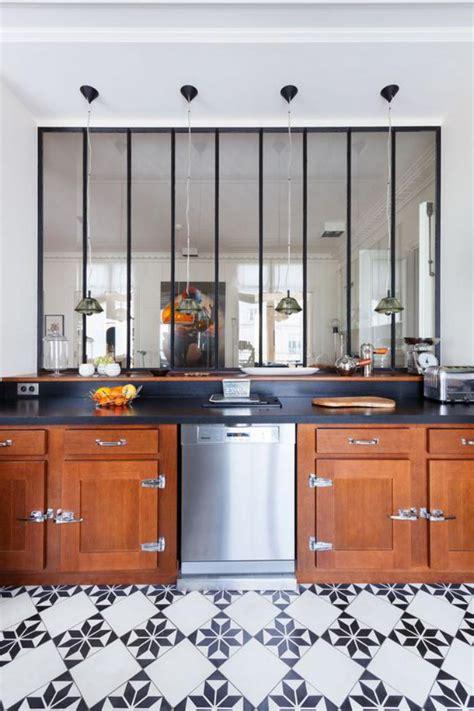 verriere interieure cuisine la verrière intérieure jolies photos et tutos pour