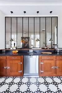 Cuisine Carreau De Ciment : la verri re int rieure jolies photos et tutos pour ~ Melissatoandfro.com Idées de Décoration