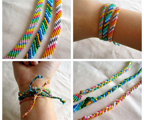 How To Make A Friendship Bracelet 4
