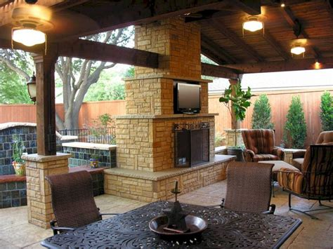 Ideas For Outdoor Patios by Gorgeous 25 Outdoor Fireplaces And Patios Design Ideas