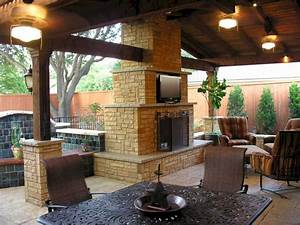 Gorgeous, 25, Outdoor, Fireplaces, And, Patios, Design, Ideas, For, Your, Backyard, U2013, Decorathing