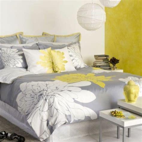deco chambre jaune et gris d 233 coration chambre gris et jaune