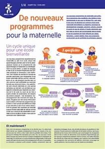 maternelle programmes documents d39accompagnement With documents d accompagnement nouveaux programmes