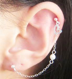 Heart Cartilage Piercing