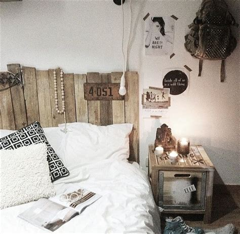 deco chambre avec palette tête de lit en palette 20 idées étonnantes pour un style