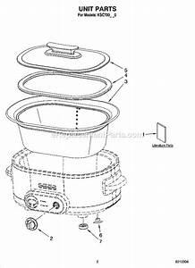 Kitchenaid Ksc700gc0 Parts List And Diagram   Ereplacementparts Com