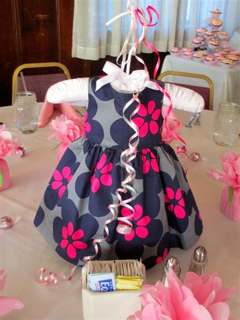 baby girl shower centerpieces baby shower dress centerpiece so if it 39 s another