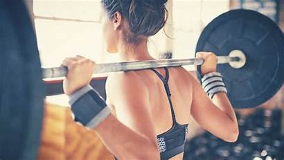 Composition Improve Weight Lifting Science Woman
