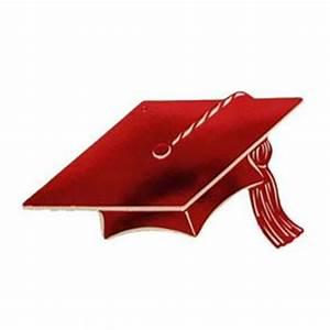 Red Graduation Cap Clipart - Clipart Suggest