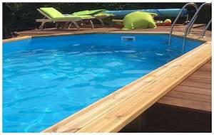 Liner Piscine Octogonale : woodfirst original kit complet octo allong piscine bois ~ Melissatoandfro.com Idées de Décoration