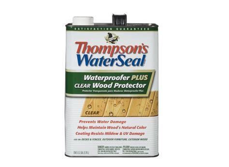 thompsons waterseal waterproofer  clear wood