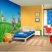 Cartoon Bed Background...