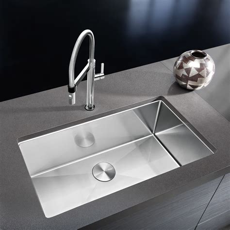 Contemporary Kitchen Faucets Stainless Steel — Railing