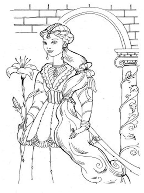 184 best images about barbie coloring pages on pinterest