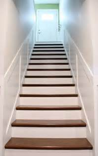 Carpet Treads For Wood Stairs by 25 Best Ideas About Stair Decor On Pinterest Stair Wall