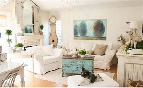 Chic Living Room Decorating Ideas And Design 7 Chic: 20 Distressed Shabby Chic Living Room Designs To Inspire