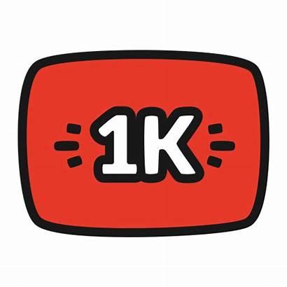 Icon 1k Views Seguidores Icono Followers Punto
