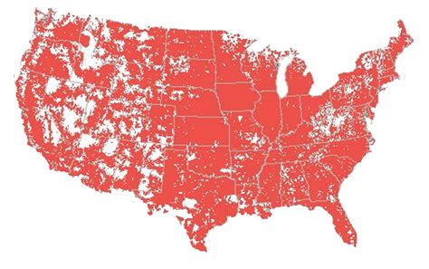 National Coverage - Largest 4G LTE Network