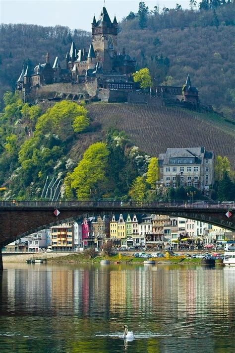 Cochem Castle Cochemgermany Awesome Views Germany