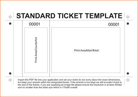 admission ticket template admission ticket template doliquid