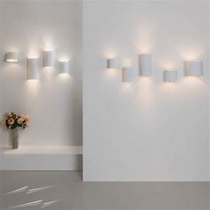 Up And Down Lights : ax7001 bologna 160 plaster round 2 x 3w led wall light for up and down lighting paintable white ~ Whattoseeinmadrid.com Haus und Dekorationen