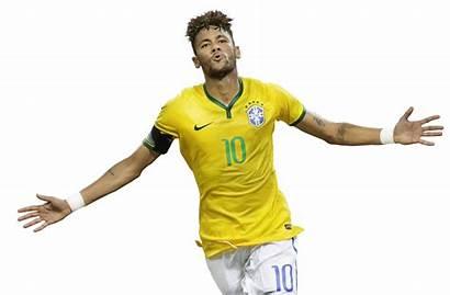 Neymar Render Athlete Transparent Background Brazil Football