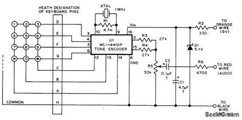 Stable Encoder Basic Circuit Diagram Seekic