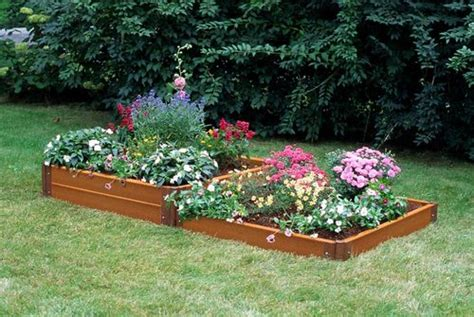 Two-step Composite Raised Garden Bed 4' X 8'