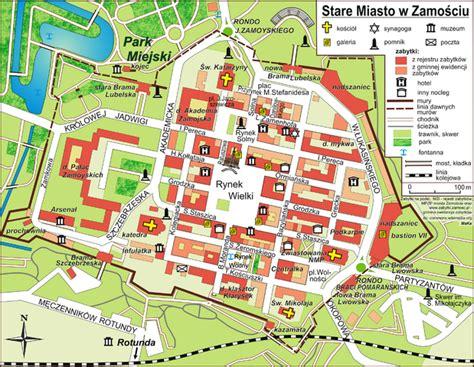 Na Zone V Zhenskoy Kolonii 9507 Plik Stare Miasto Zamość Plan Png Wolna