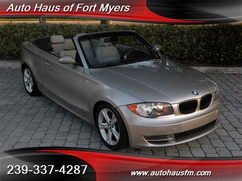 2008 Bmw 128i Convertible Ft Myers Fl For Sale In Fort