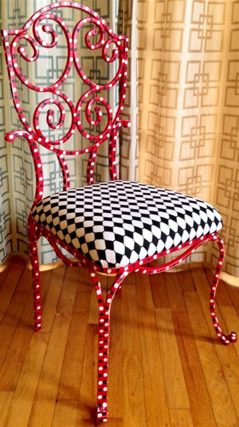 vibrant diy painted chair design ideas