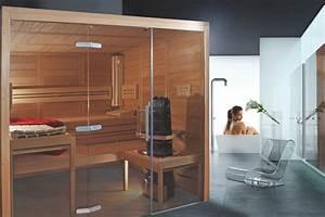 Sauna Mit Glasfront : modell visione wille sauna ~ Orissabook.com Haus und Dekorationen
