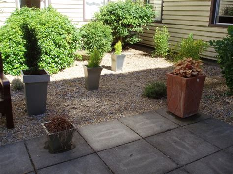 potted courtyard garden design ideas home trendy