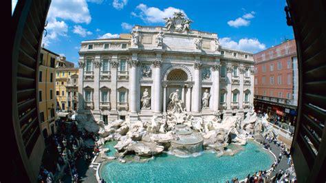 full hd wallpaper trevi fountain  city rome desktop