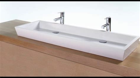 Double Trough Sinks For Bathrooms-youtube