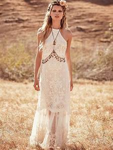 Boho chic wedding dresses for summer 2018 fashiongumcom for Boho chic wedding dresses