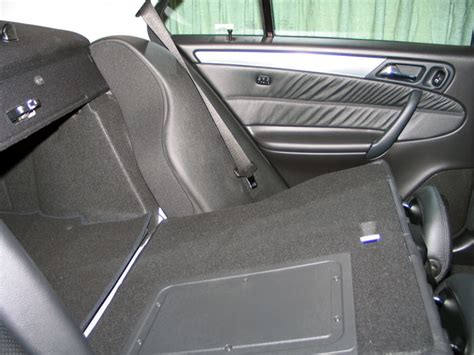 rear folding seats ski sack retrofit removing