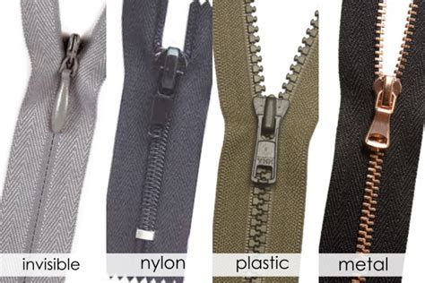 The Ultimate Guide To Different Types Of Zippers