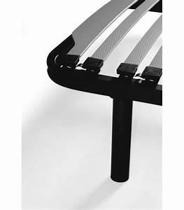 Pied De Lit Metal : ensemble 160x200 matelas sommier pas cher literie ~ Nature-et-papiers.com Idées de Décoration