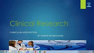 clinical research associate online training youtube With clinical research associate training